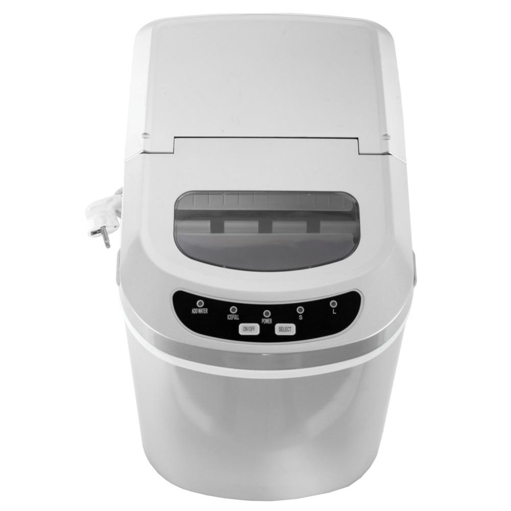 Smad Портативный столешницы 2.3 кварт льда со светодиодной управления 26 фунтов/день Высокое качество 110 В компактный льда машина us-подключи