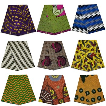 flower wax prints in fabric 100% cotton 6yards/piece dutch veritable real block wax african woman hot sale