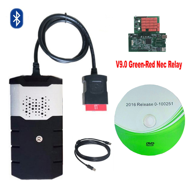 VD DS 150E CDP scanner for delphis 2015R3 keygen 2016 00 with bluetooth obd obd2 obdii