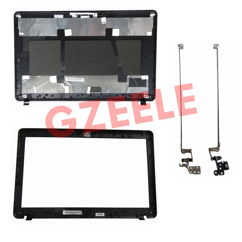 GZEELE New For PACKARD BELL EasyNote TE11 TE11HC TE11HR TE11BZ TE11HR TE11-BZ TE11-HC LCD Top Cover Case /Bezel Cover/LCD Hinge