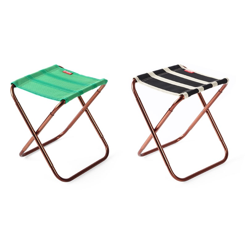 Aliexpress.com : Buy AOTU AT6751 Collapsible Seat Durable Portable Folding  Chair Camping Stool Ultralight Compact Camp Footrest Stool Black Stripes  From ...