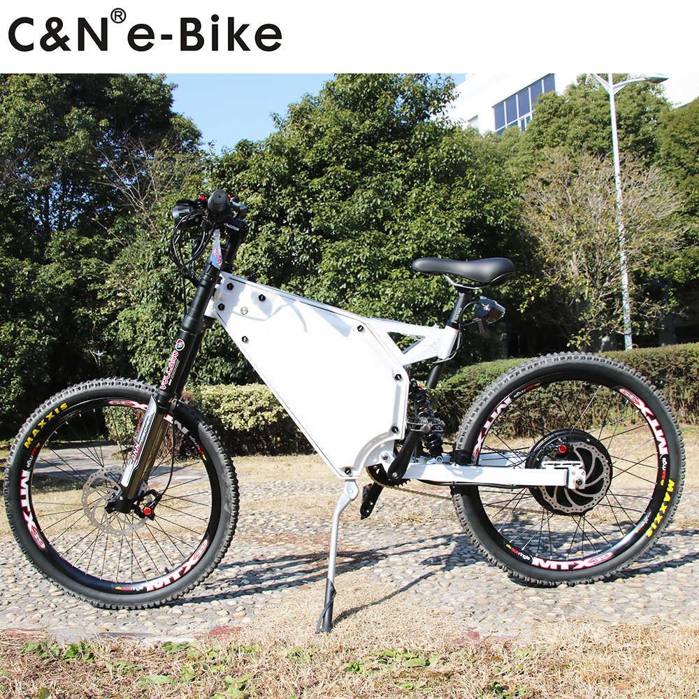 2018 Hottest 72v 3000w Stealth bomber electric bike mountain bike enduro ebike