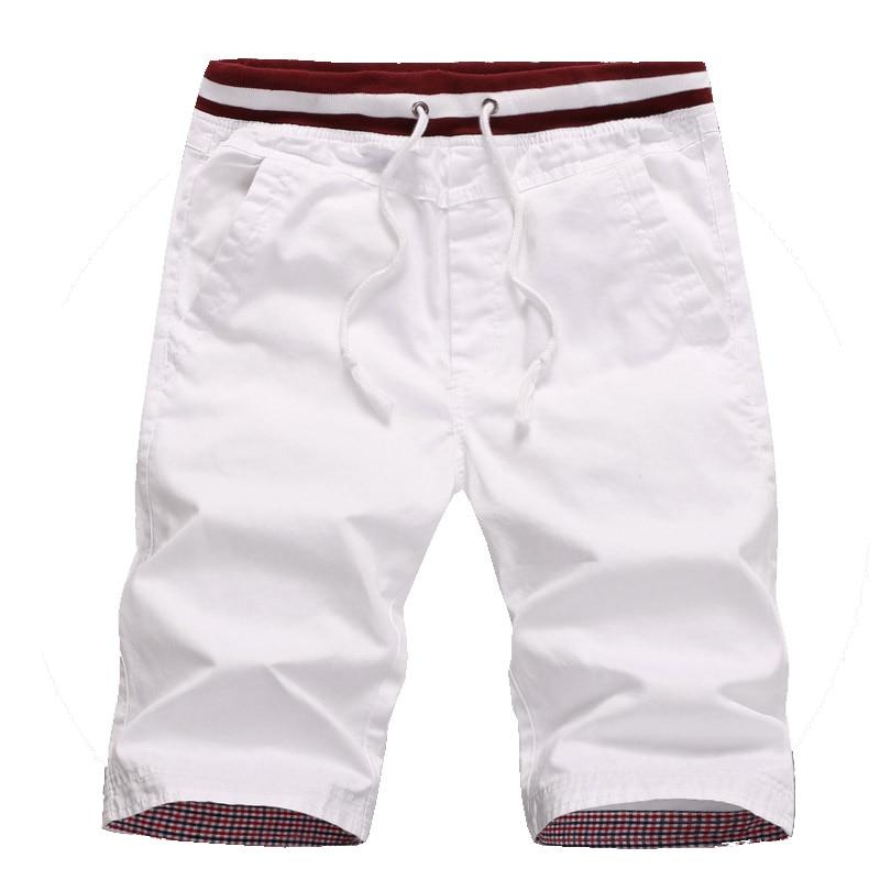 Transporte da gota new arrivals homens do algodão shorts homme slim fit praia bermuda masculina corredores M-5XL CYG192