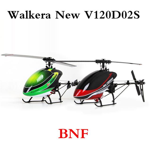 Walkera nueva V120D02S BNF sin Control remoto Walkera V120D02S Mini 3D 6CH RC helicóptero con 6-Axis Gyro
