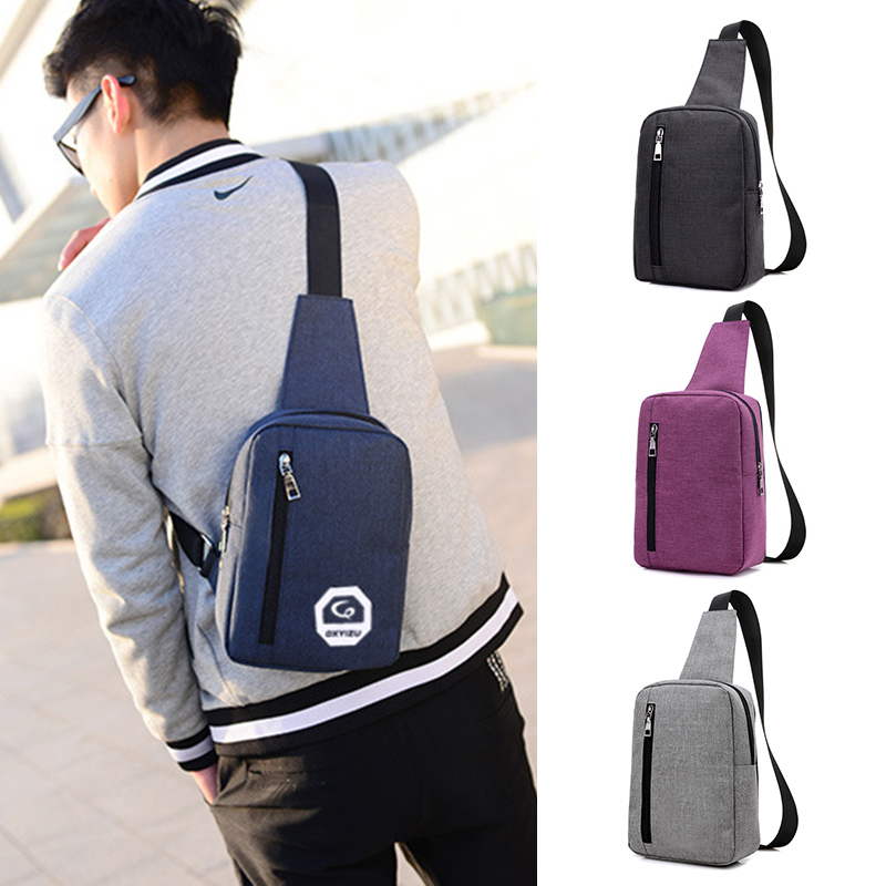 2017 Canvas Men Chest Pack Male Crossbody Shoulder bags Vintage Sling Bags Leisure Travel Messenger Bag wholesale aerlis men small canvas leather messenger shoulder backpack travel military single strap sling bag satchel chest pack bags 1097