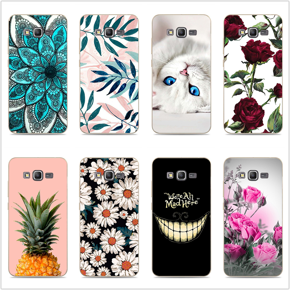 For Coque Samsung Galaxy Grand Prime Case G530 G530H G531 G531H G531F SM-G531F Luxury TPU Case Cover Cute Silicone Phone Cases