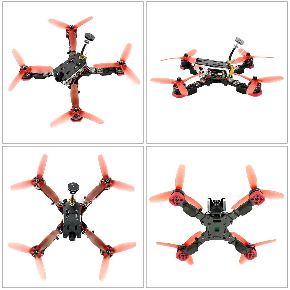 Żaba 218mm 2.4G 6CH RC Racer Drone RTF Betaflight F4 Pro V2 BLHeli s 30A 5.8G 25/200/400mW VTX Mini 700TVL kamery FPV Quadcopter w Helikoptery RC od Zabawki i hobby na  Grupa 3