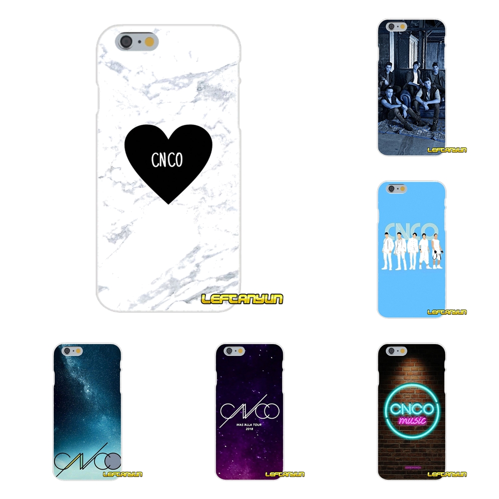 CNCO Soft Silicone phone Case For Samsung Galaxy S3 S4 S5 MINI S6 S7 edge S8 Plus Note 2 3 4 5