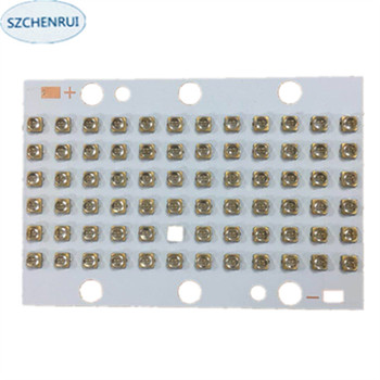 216 watts high-power LED UV violet 3535 Gold plated bracket 365nm 370nm 380nm 385nm 395nm   400nm 405nm 59*87mm board 216 watts high power led uv violet 3535 gold plated bracket 365nm 370nm 380nm 385nm 395nm 400nm 405nm 59 87mm board