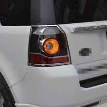 High Quality Car Accessories ABS Chrome Taillight Cover For Land Rover Freelander 2 2012