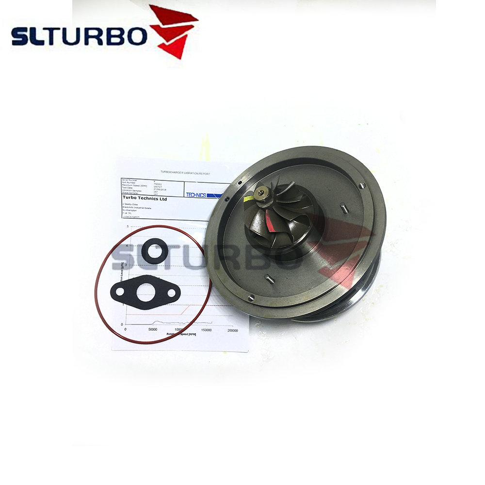 NEW Garrett <font><b>GT1752V</b></font> 750952 turbine CHRA 750952-0001 for BMW 120D E87 163HP 120 Kw 2.0D M46TU - turbo cartridge Balanced 77980551 image