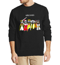 Funny Science sweatshirt Chemistry Noble Gas Wars 2016 new autumn winter fashion men hoodies cool streetwear  clothing