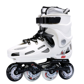 Size 36-43 Quality roller skate shoes with white or black color and removable inner tank for the kid/adult inline skating shoes