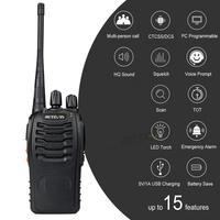 מכשיר הקשר 10 PCS Retevis H777 רדיו מכשיר הקשר 5W UHF400-470MHz 16CH Ham Radio Portable A9105A משדר Hf Comunicador רדיו שני הדרך (5)