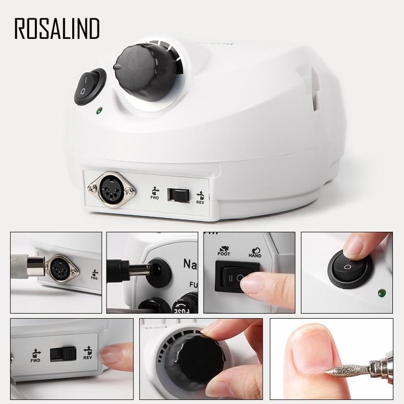 Rosalind 1 Kit Electric Manicure Drill Eu Plug Nail Design Of Nails