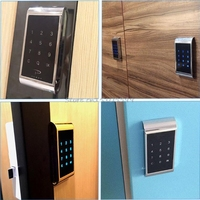 Drawer Combination Lock Touch Keypad Password Key Access Cabinet Door Lock Digital Electronic Security Coded For