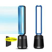 High Quality Bladeless Fan with Air Purification Filter Portable Leafless Fans Tower Fan Air Purifier Fan Air Freshener for Home