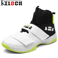 Keloch 2017 New Men Women Basketball Shoes Breathable Athletic Basketball Sport Boots For Male Female Cheap