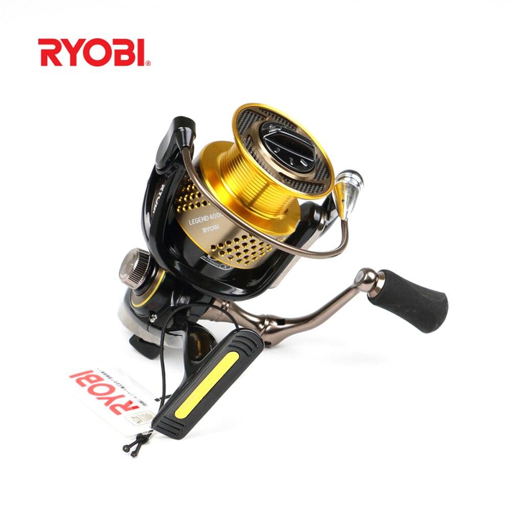 2018 nouveau 100% Original RYOBI LEGEND japon haute qualité filature bobine 6BB/5.1: 1 matériel de pêche Carretilha Pesca