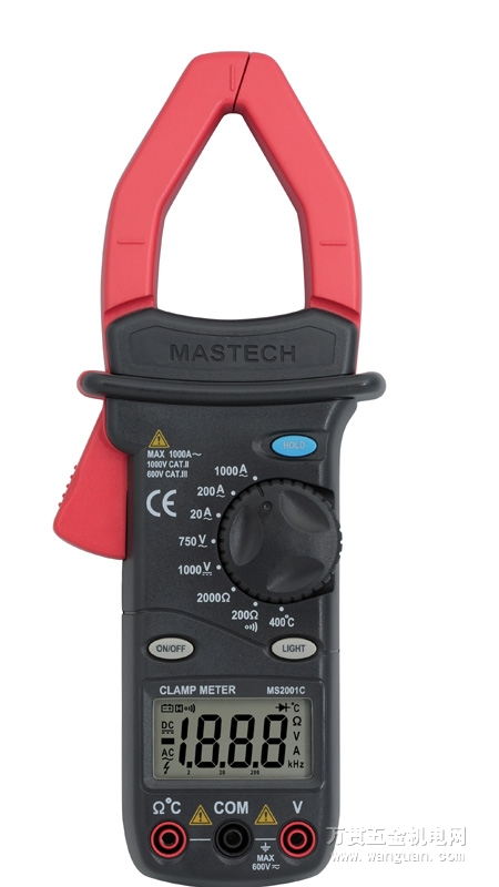MASTECH MS9912 Digital Clamp Meter Auto Range 3200 Counts Digital AC DC Clamp Meter Voltage Current Resistance Frequency Tester mastech ms8260f 4000 counts auto range megohmmeter dmm frequency capacitor w ncv