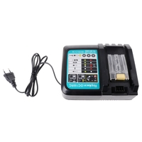 Li ion Battery Charger 3A Charging Current for Makita 14.4V 18V BL1830 BL1840 Power Tool DC18RC Charger US/EU Plug