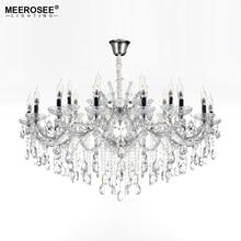 Luxurious Crystal Chandelier Lighting Fixture Hanging Lamp for Foyer Restaurant Project Maria Theresa Indoor