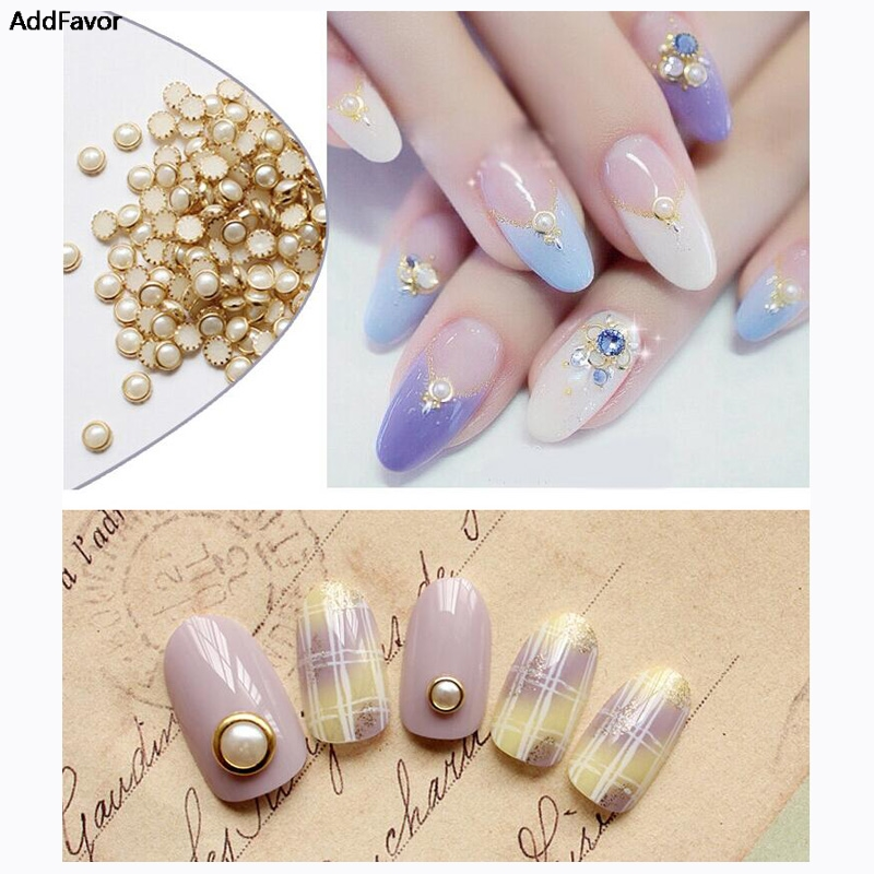Addfavor 3d glitter diy nail accessories nail rhinestone for Acrylic nail decoration supplies