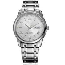 SOLLEN 41 мм диаметр Часы Повседневная Спортивные Часы Для Мужские Часы с Датой и Супер Световой Кварцевые Часы SL9001