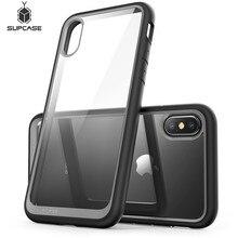Для iphone X XS чехол SUPCASE UB Стиль Премиум гибридный защитный ТПУ бампер + PC прозрачная задняя крышка чехол для iphone X Xs 5,8 дюйма