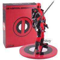 Figure Deadpool Action Figure Deadpool Armed With his Guns Collectible Toy Present 16cm Marvel Deadpool Action Figure