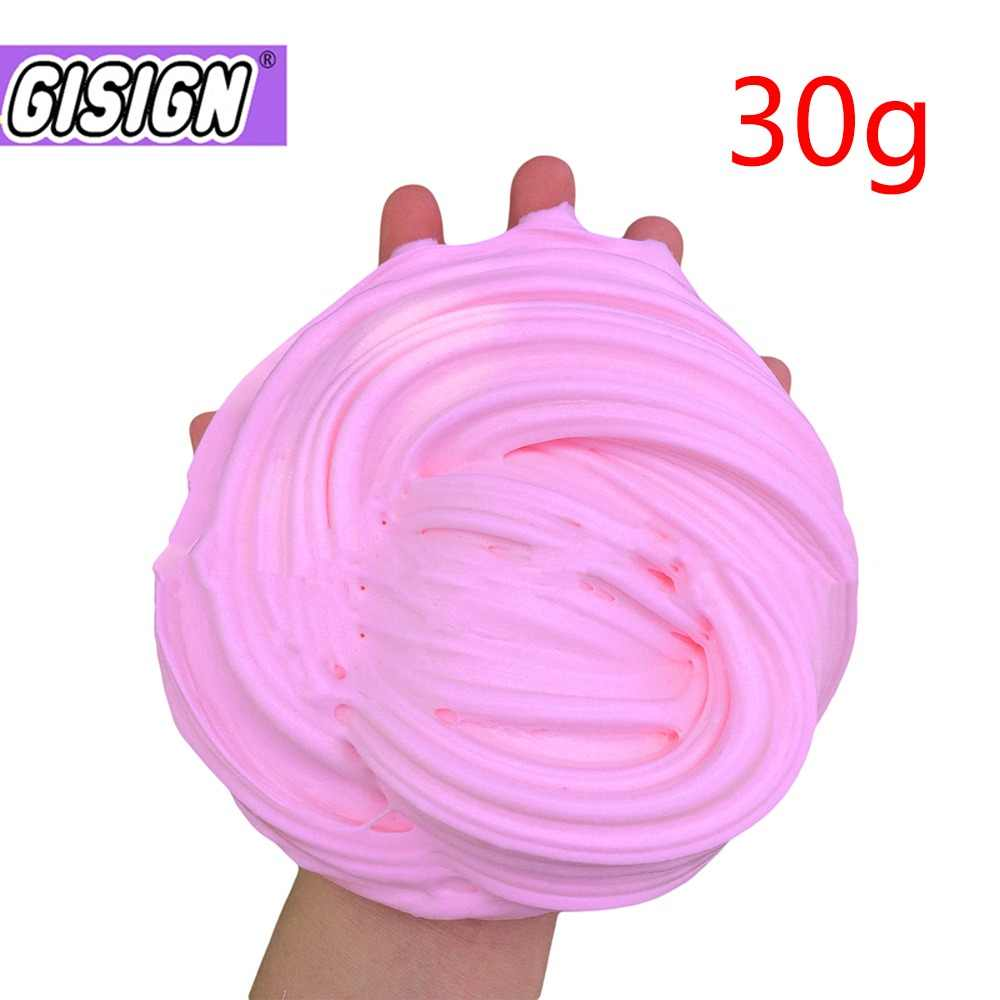 Fluffy Slime Lizun Gum Toys Polymer Clay Air Dry Plasticine Slime Supplies playdough Light modeling Clay Charms for Antistress