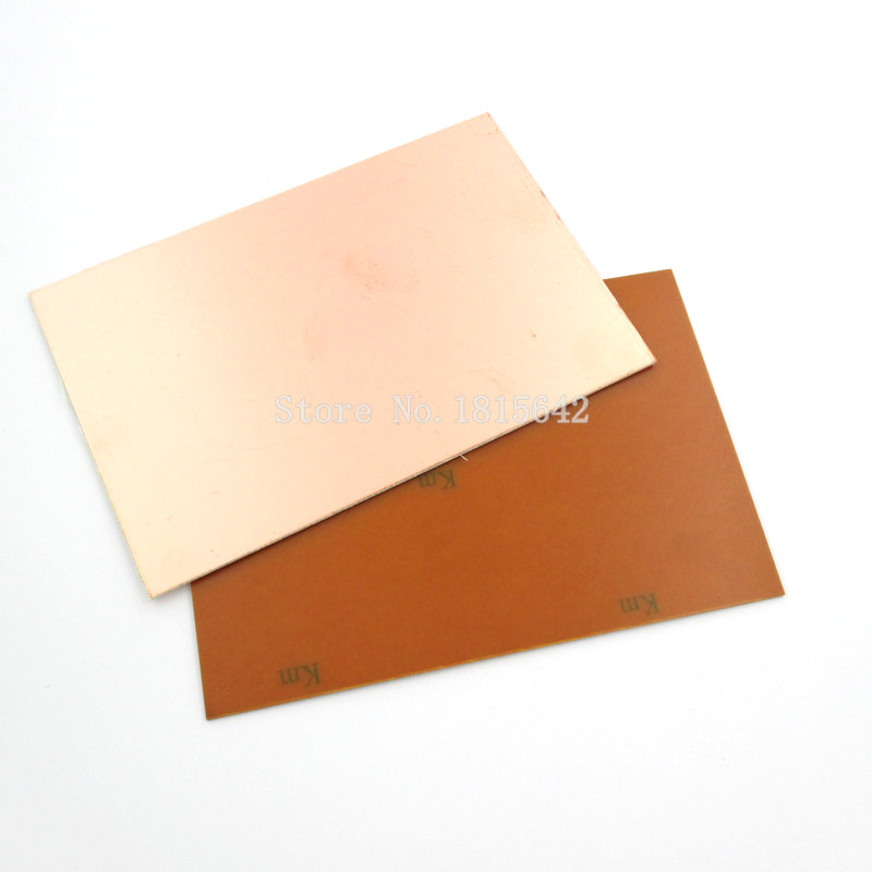 1PCS One Single Side Glass Fiber PCB Copper Clad Plate Laminate Circuit Board 10X15cm 100mm*150mm*1.5mm
