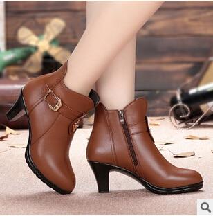 Woman font b boots b font 2016 font b Women s b font genuine leather font