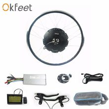 okfeet 48Velectric bike kit 1000w rotate hub motor kit with LCD3 function high Quality CE certification speed limited(China)