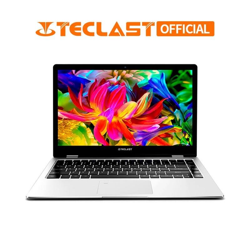 Teclast F6 Pro 360 grado portátil Windows 10 OS 13,3 pulgadas 1920x1080 8 GB RAM 128 GB SSD Intel Core cuaderno de doble núcleo m3-7Y30
