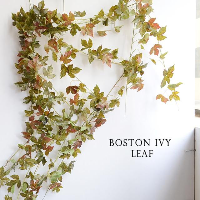 1 PC 2 m Buatan Ivy Daun Anggur daun Ubi jalar daun Bunga Pohon Anggur  Dekorasi 81ce15f62d