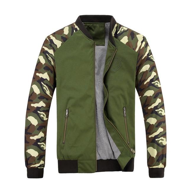 2016 новый бренд весна осень камуфляж куртки высокое качество военные куртки  Большой размер 2XL 3XL бесплатная 45cdef3fb68