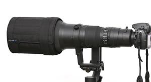 Image 2 - ROLANPRO Lens Hood for Canon 600mm f/4 IS II III USM SLR Telephoto Lens Folding Hood Light Weight Foldable Wear resistant Hood