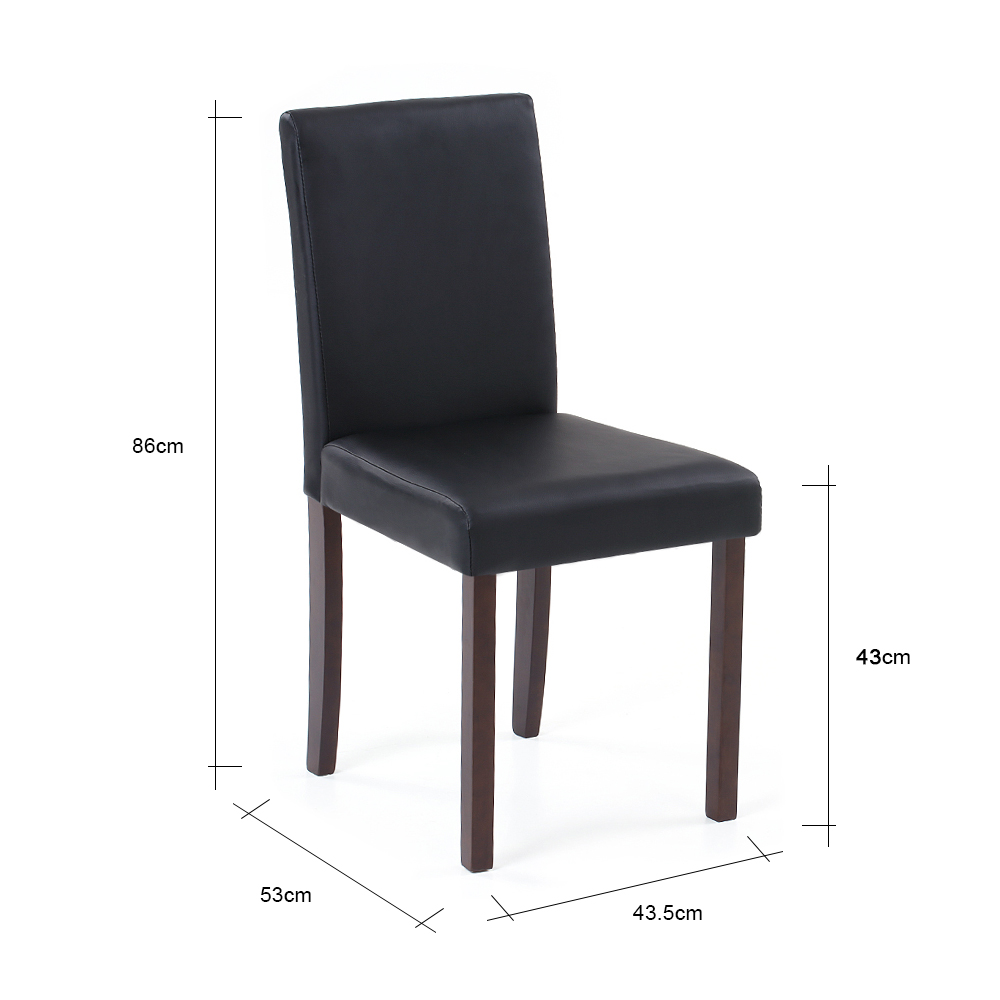 Pleasant Us 62 51 25 Off Ikayaa Us Stock Faux Leather Dining Chairs Wood Frame Padded Kitchen Side Parson Breakfast Stools Restaurant Furniture Cadeira In Evergreenethics Interior Chair Design Evergreenethicsorg