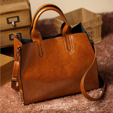 Large Capacity Women Tote Ladies Shoulder Bag Female Handbag PU Leather Messenger Bag Soft Shopping Crossbody Bag Satchels недорого
