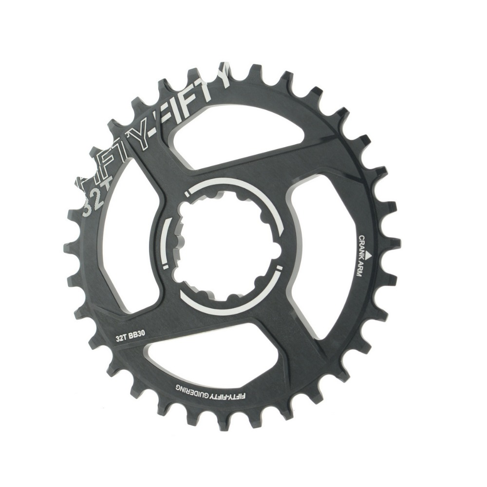 FIFTY-FIFTY MTB Crankset Chainwheel Chainring Aluminum Alloy Repair Bicycle Parts For SRAM BB30 (Narrow-Wide) 32T 34T 36T fifty shades darker