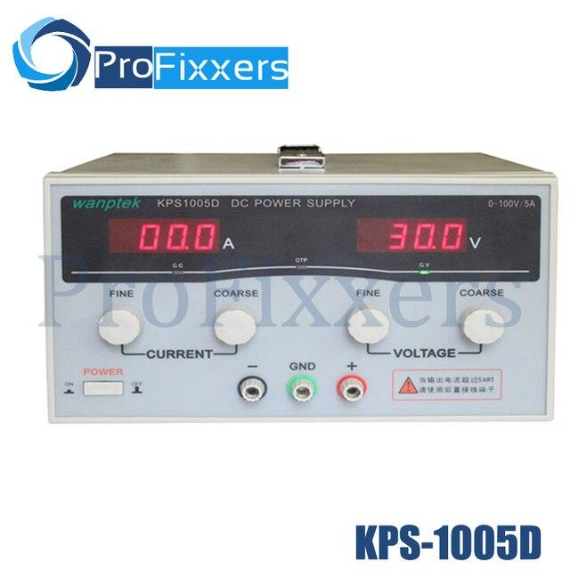 KPS1005D High precision High Power Adjustable LED Dual Display Switching DC power supply 220V EU 100V/5A