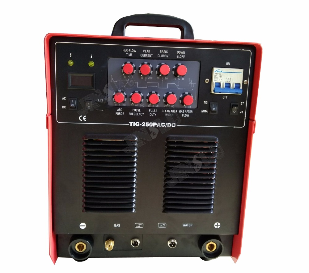купить TIG-250P AC DC Pulse Aluminum Tig Welding Machine Welder 380V онлайн