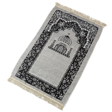 Home Textile 70x110cm Muslim Prayer Rug Worship Salat Musallah Tassel Carpet Tapete Banheiro Islamic Praying Mat