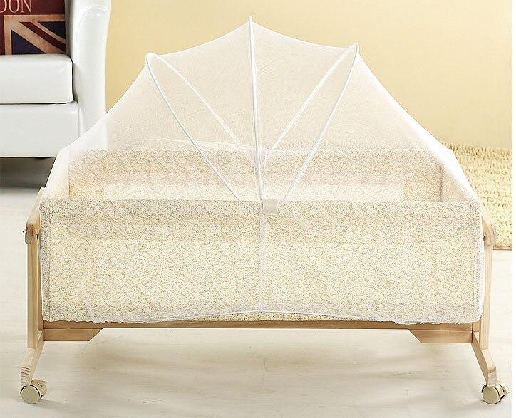 Draagbare Baby Bed Crib Folding Klamboe Kussen Matras Zomer Baby Zuigelingen Mosquito Mesh Crib Netten