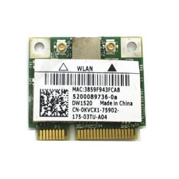 Половинная карта MiniPCI-E 300 Мбит/с для беспроводной карты DW1520 Broadcom BCM43224 BCM943224HMS Бесплатная доставка