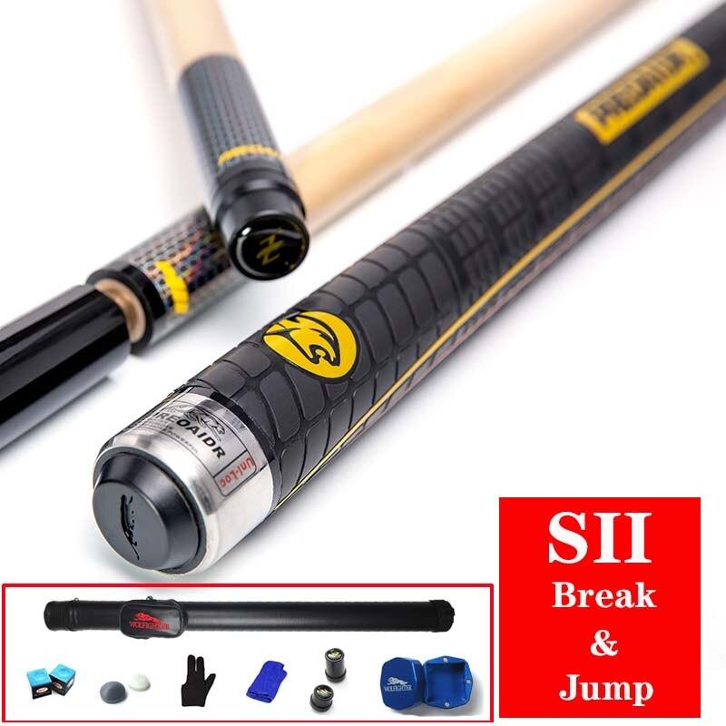 3142 Brand S2 Break Cue Pool Punch Jump Cue 13mm Tip Billiard Stick Jump Cues