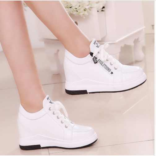 Women Slimming Platform Shoes Women Fashion Women Fwedges 6cm High Platform Female Casual Shoes 6 style can choose