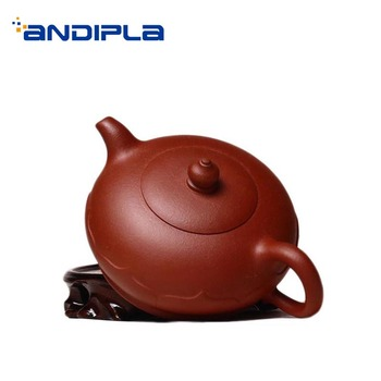 270ml Authentic Yixing Purple Clay Teapot for Home Drinkware Health Raw Ore Qing Shui Mud Zisha Pot Black Tea Puer Kettle Gifts