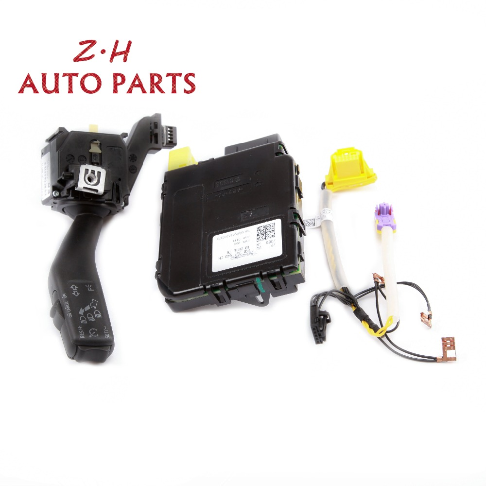 NEW 1K0 953 549 CH Multifunction Cruise Control System Steering Wheel Module Switch Kit For VW